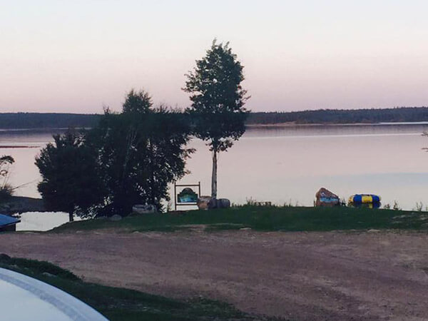 Cabin Lake View
